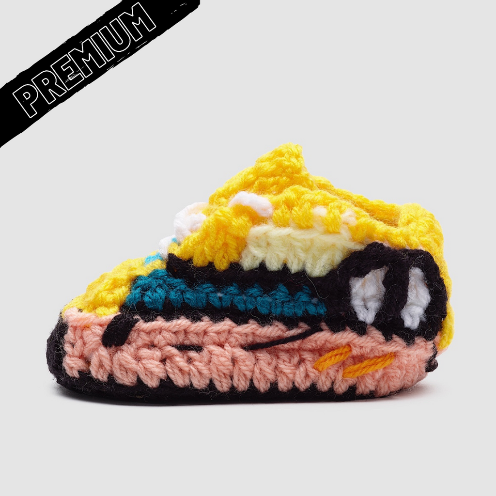 Baby Crochet Yzy Sun (non-slip bottom & shoe box)