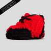 Baby Crochet IB-Red Game (non-slip bottom & shoe box)