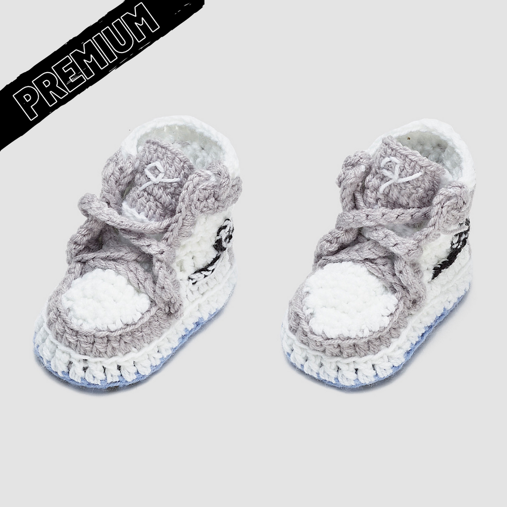"Baby Crochet IB-1 ""Lux"" (Soft felt non-slip bottom and shoe box)"