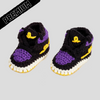 Baby Crochet IB-1 Mamba Forever (includes soft felt bottom & shoe box)