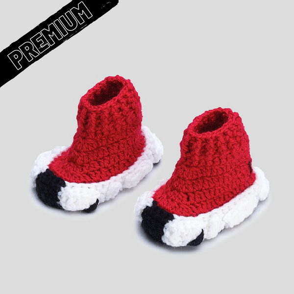 Baby Crochet IB Sock Runners (non-slip bottom & shoe box)