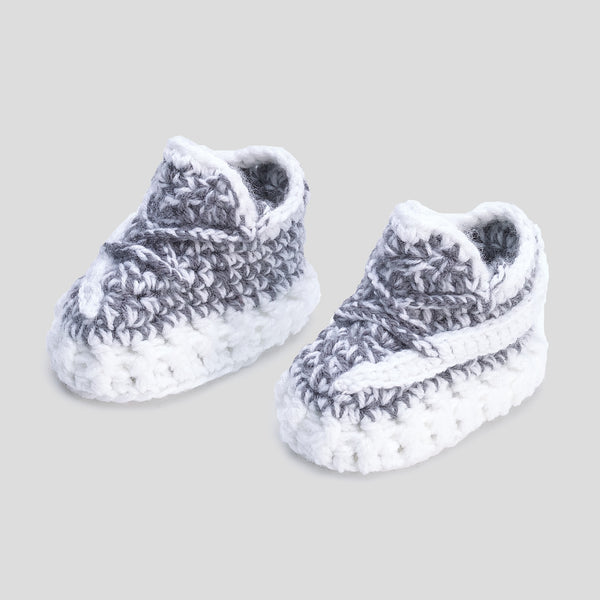 Baby Crochet Yzy Stat Reflective (Includes Shoe BOX)