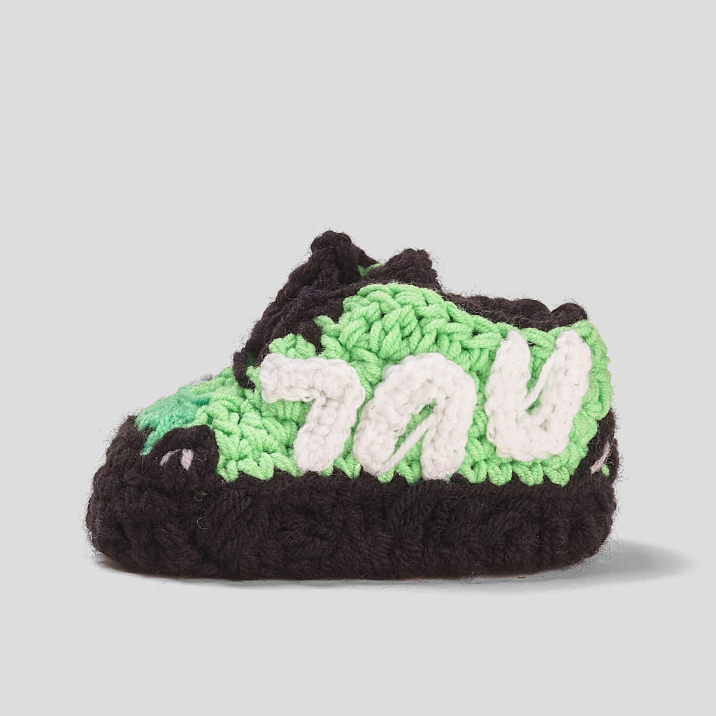 Baby Crochet Yzy M-Green (Soft Felt bottom)
