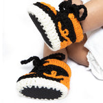 Baby Crochet IB-1 Pumpkin (Soft felt non-slip bottom and shoe box)