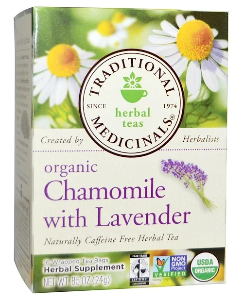Organic Chamomile with Lavender Tea