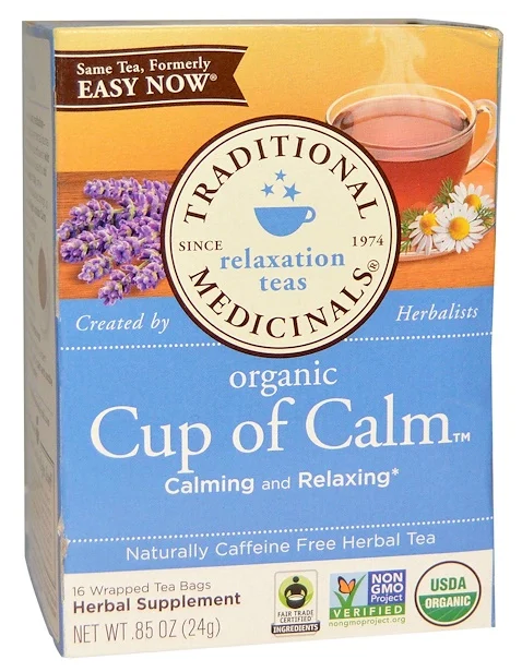 Organic Cup of Calm Tea