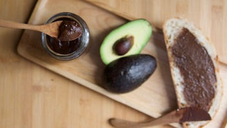 Chocolate Avocado Spread (Dairy Free, Nut Free)