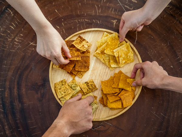 Happy Hour Sourdough Crackers - 4 Flavours (Dairy Free, Nut Free, Vegan)