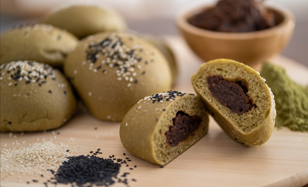 Matcha Azuki Buns (with fillings) -LIMITED PERIOD ONLY!