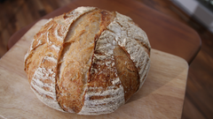 Plain Artisan Sourdough (Dairy Free, Nut Free, Vegan)