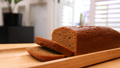 Sweet Potato Bread (Gluten Free, Dairy Free)