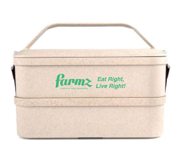 Farmz Rice Husk Bento Box - Farmz