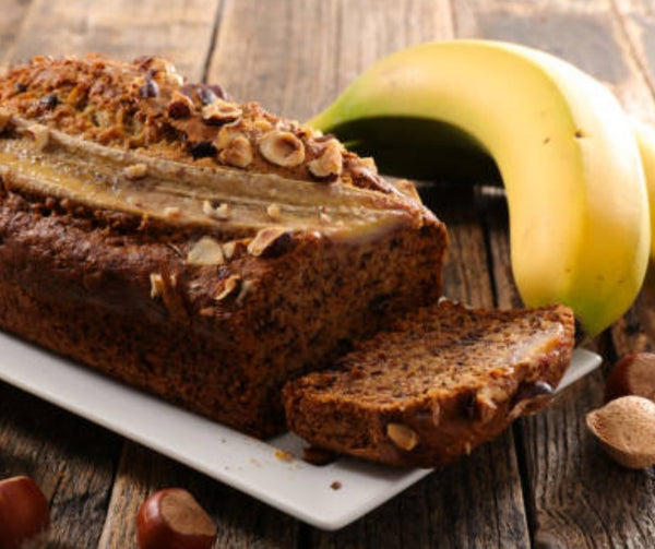 Avocado Banana Almond Bread