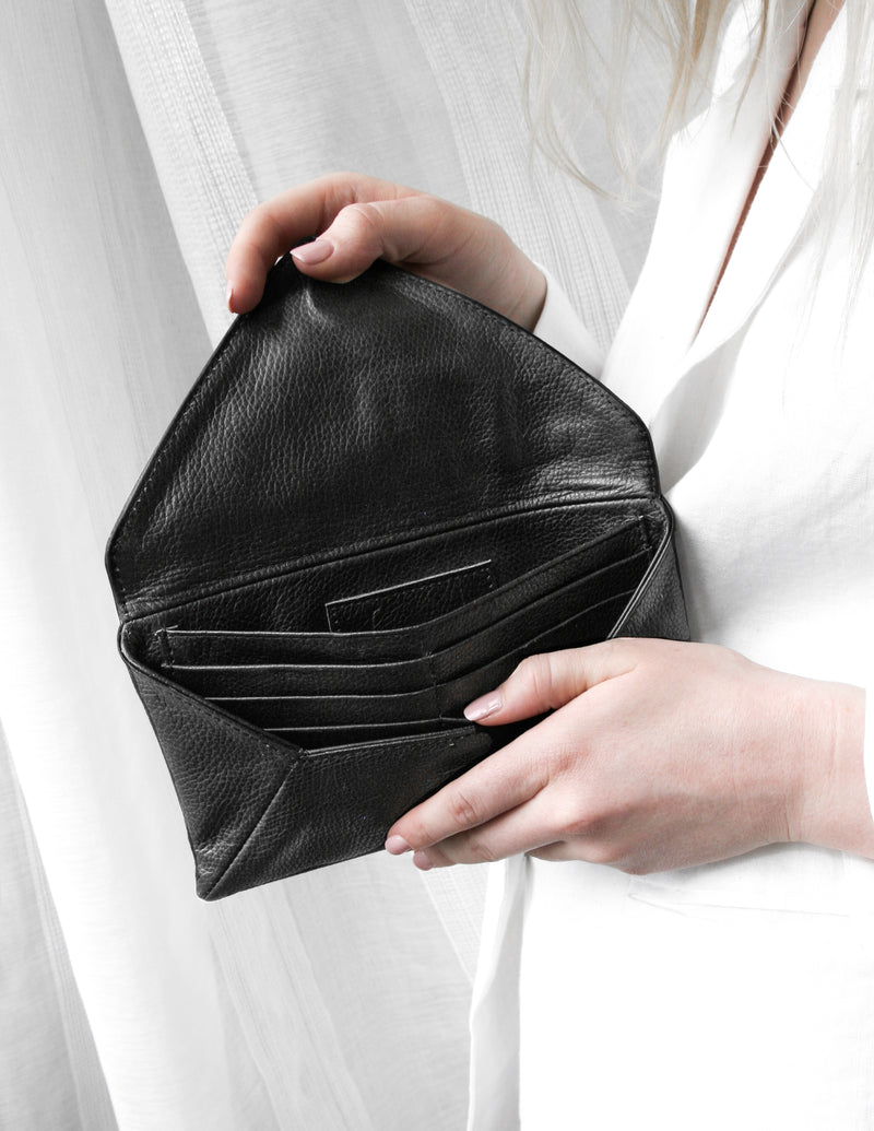 Envelope Wallet / Black