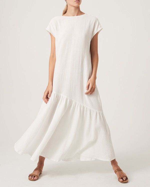 Two Sides Dress / White