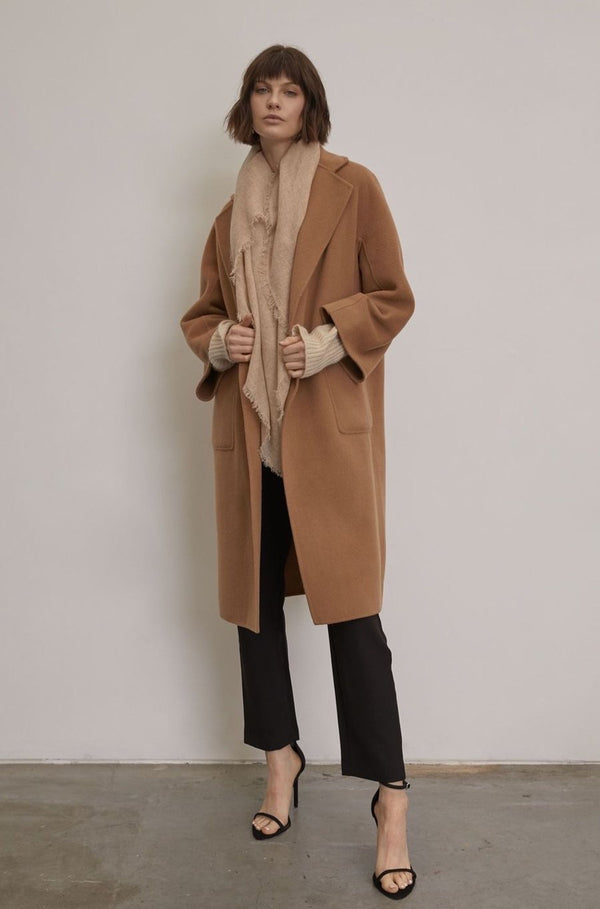 Beech Cashmere / Wool Coat