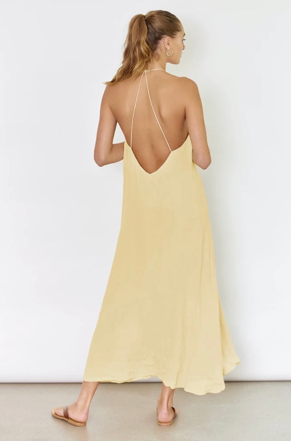 Sunseeker Dress Yellow Sunlight