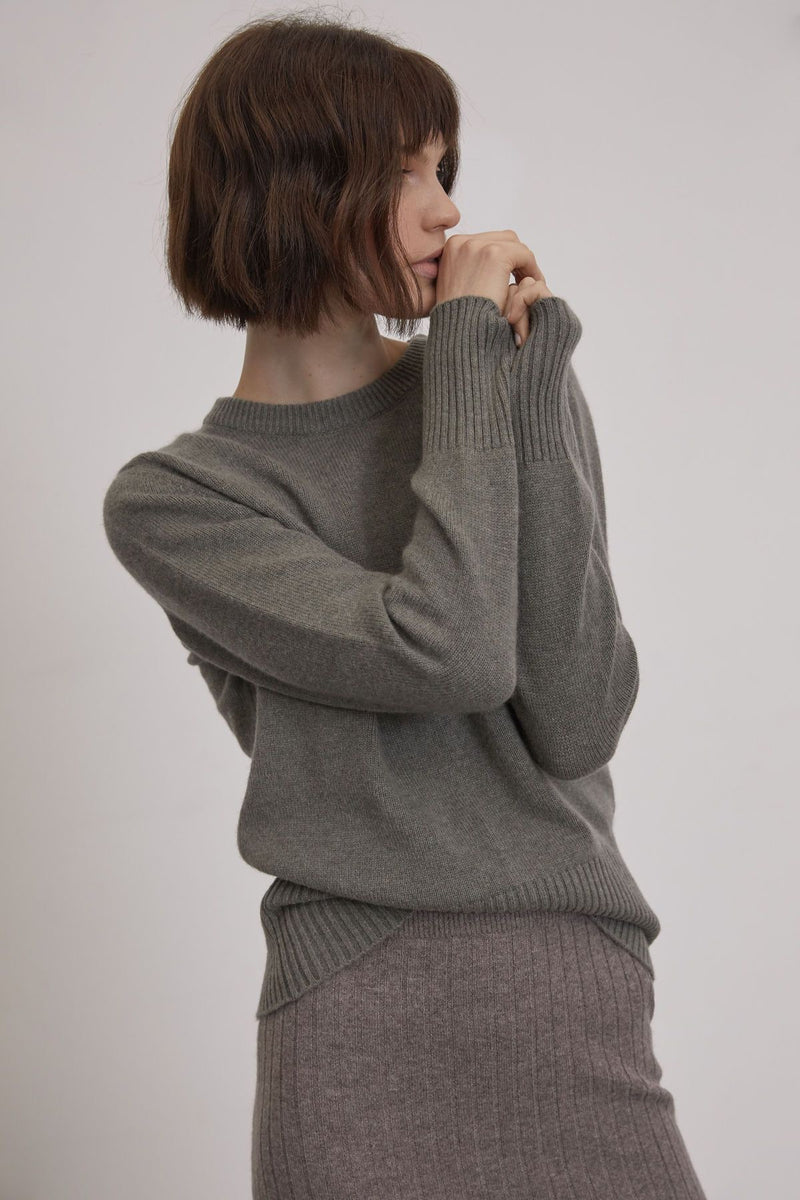 MONIKA JUMPER / MOSS GREEN