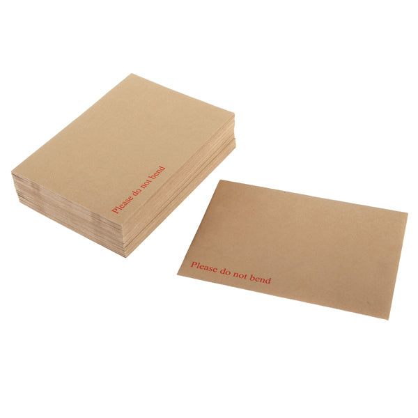 Board Back Envelopes - Brown