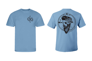 Short Sleeve T-shirt (CAROLINA BLUE)
