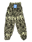 Forest Green High Waisted Elephant Pants