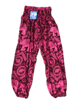 Pink High Wasted Elephant Pants