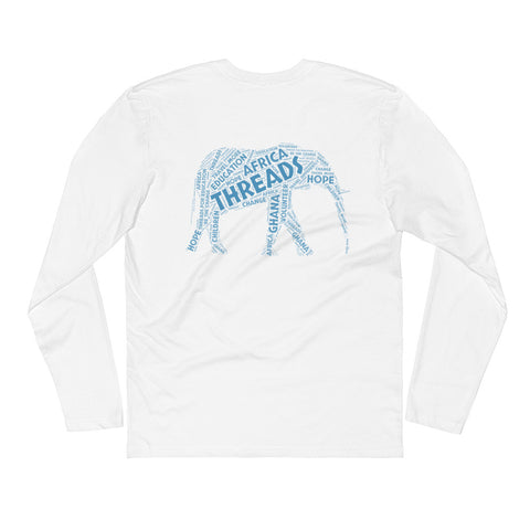 Blue Education Elephant Long Sleeve