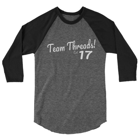 Team Threads - Black/Grey