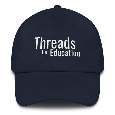 Threads Baseball Cap - Black