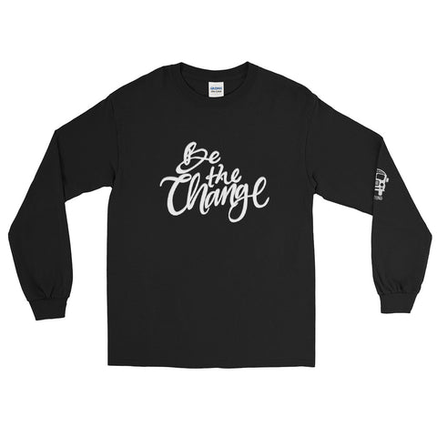 School Bus Fund Be the Change Long Sleeve T-Shirt