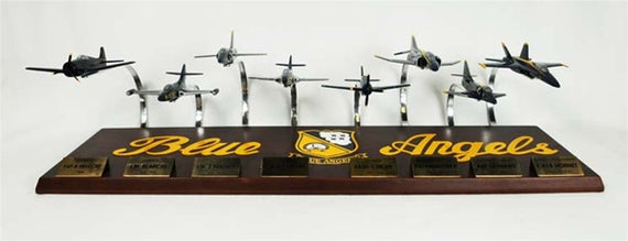 BLUE ANGELS COLLECTION 1/72 8 PLANE SET