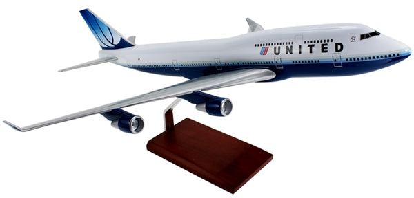 UNITED 747-400 2009 LIVERY 1/100