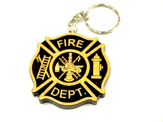 Key Chain - Fire Department