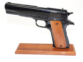 45 Caliber Black Handgun (all wood)