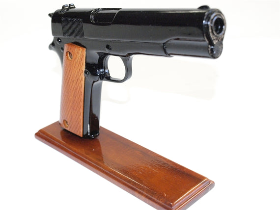 45 Caliber Black Handgun