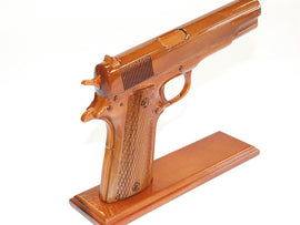 45 Caliber Brown Handgun