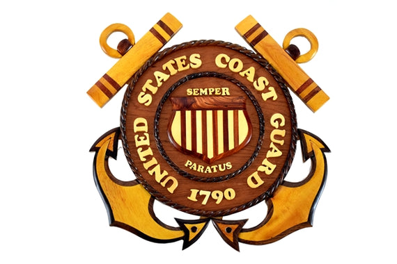 United States Coast Guard Plaque