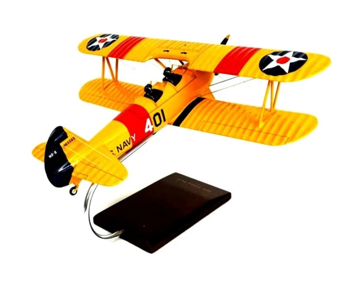 "N2S-2/3/4 Stearman ""Yel1 Peril"""