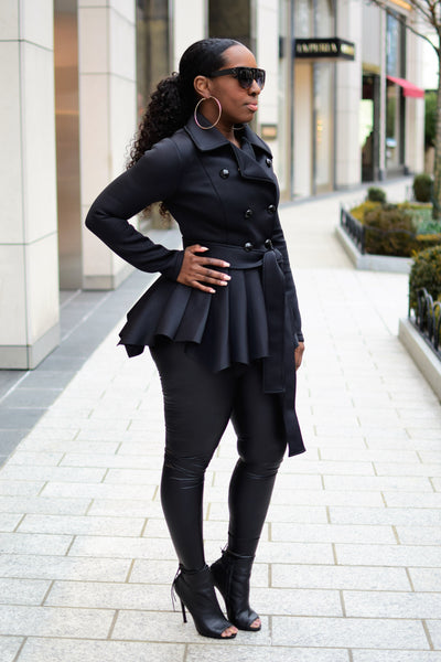 Glam Peplum Jacket