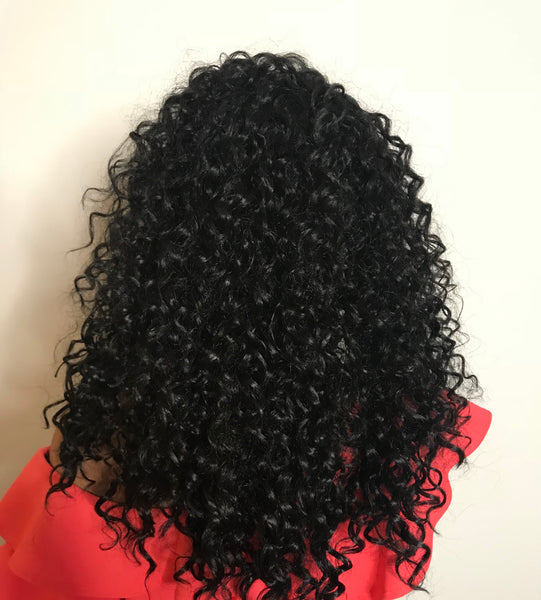 "TOP SECRET ""VACATION HAIR"" WIG  (CURLY)"