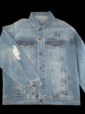 The Label Hand Painted JBD Denim Jacket