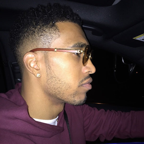 Courtney Lee from NY Knicks wears Cartier glasses