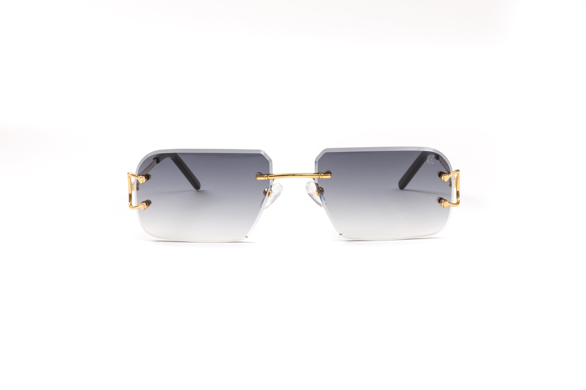Classic C by VWC 18kt Gold/ Gradient Grey Lenses
