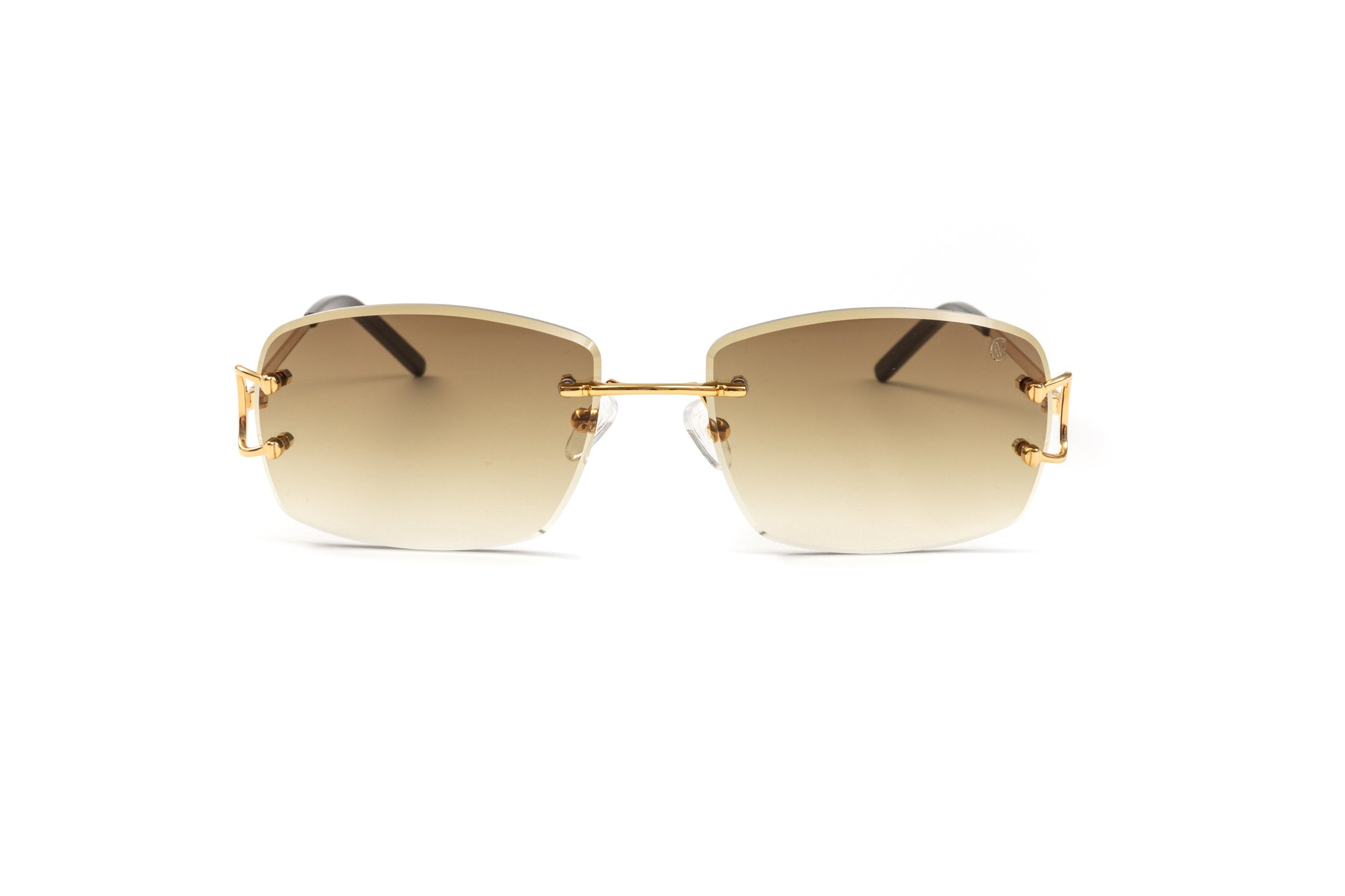 Classic C by VWC 18kt Gold/ Gradient Brown Lenses