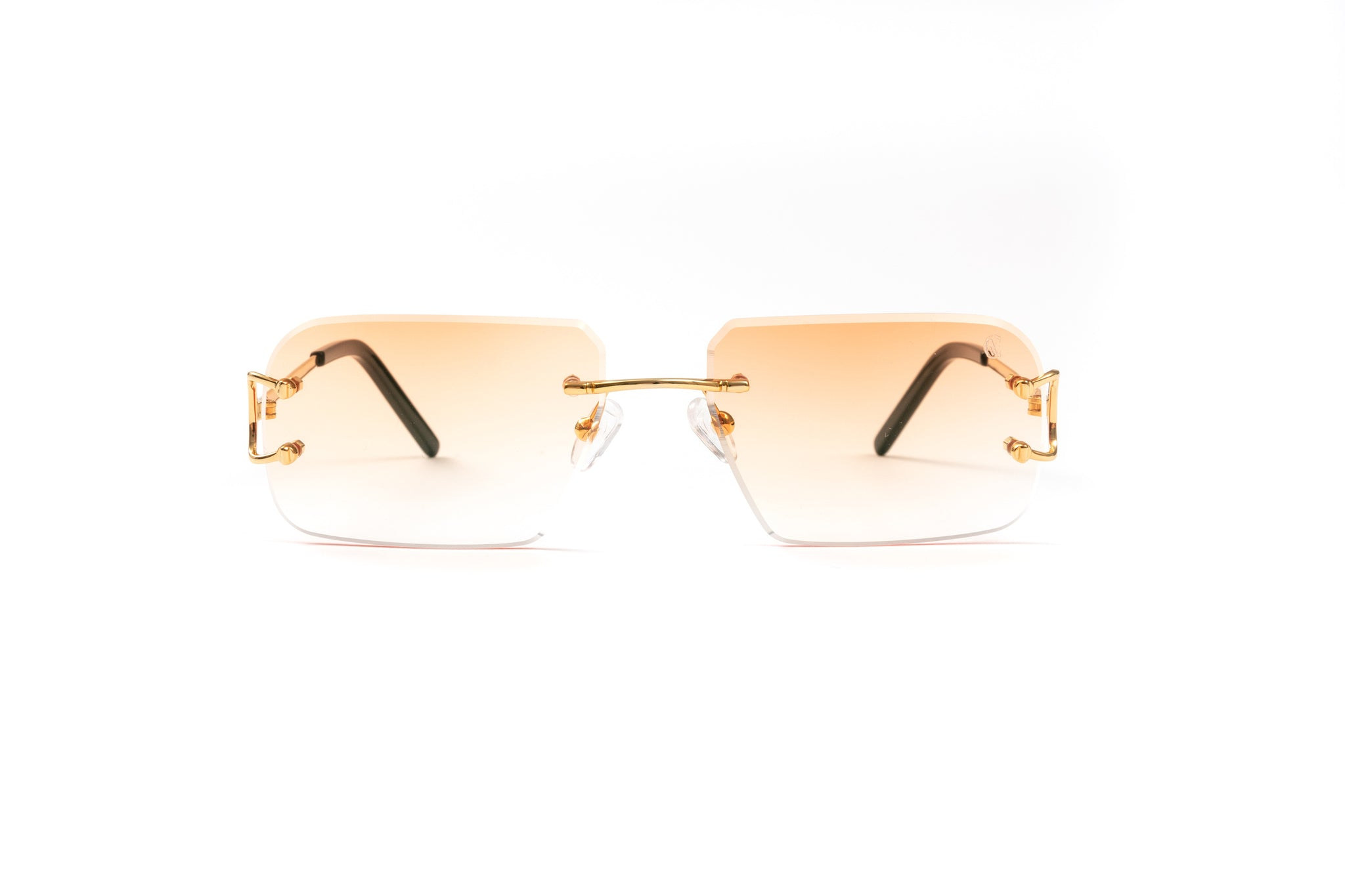 Classic C by VWC 18kt Gold/ Gradient Orange Lenses
