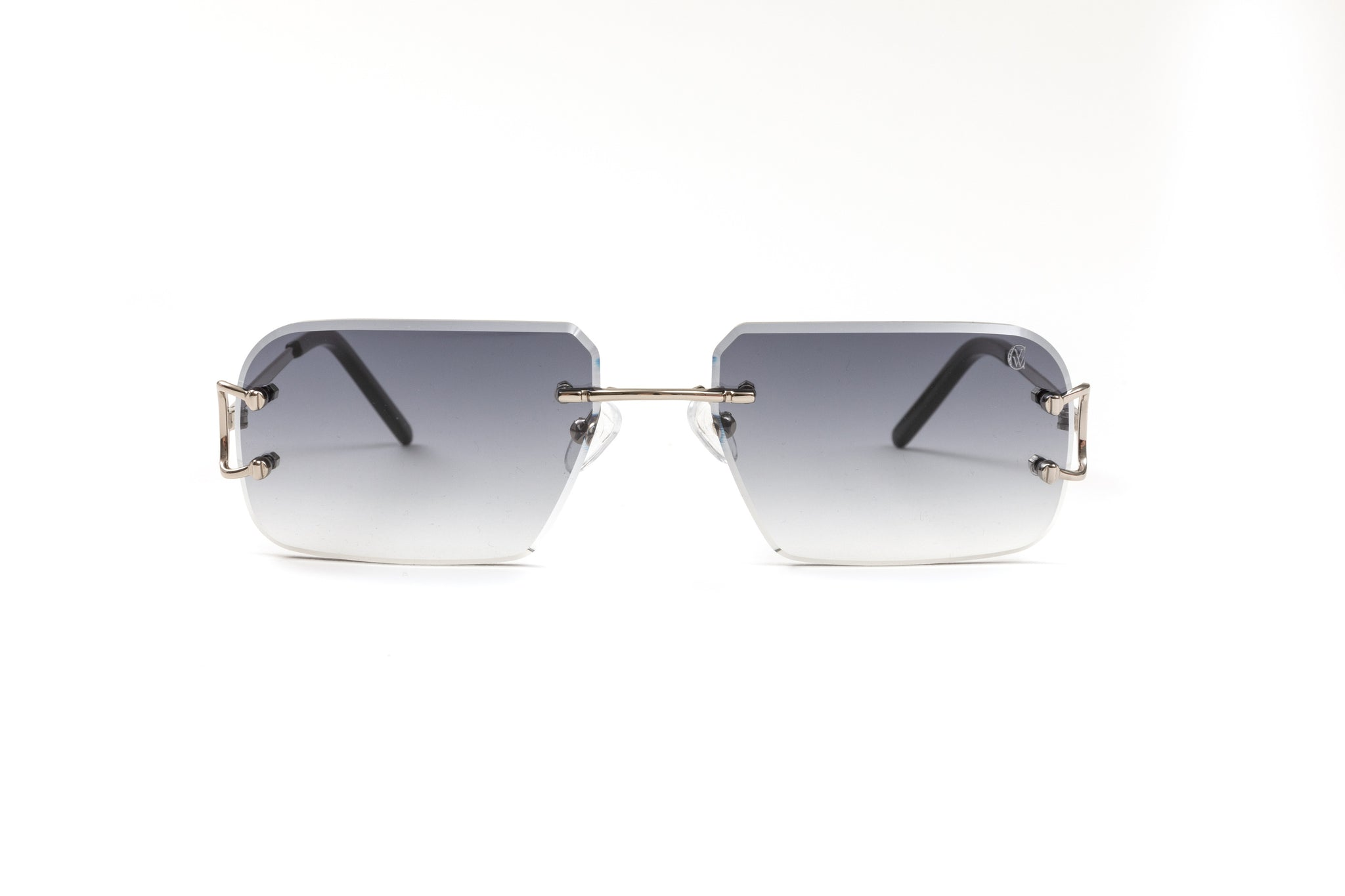 Classic C by VWC Silver/ Gradient Grey Lenses