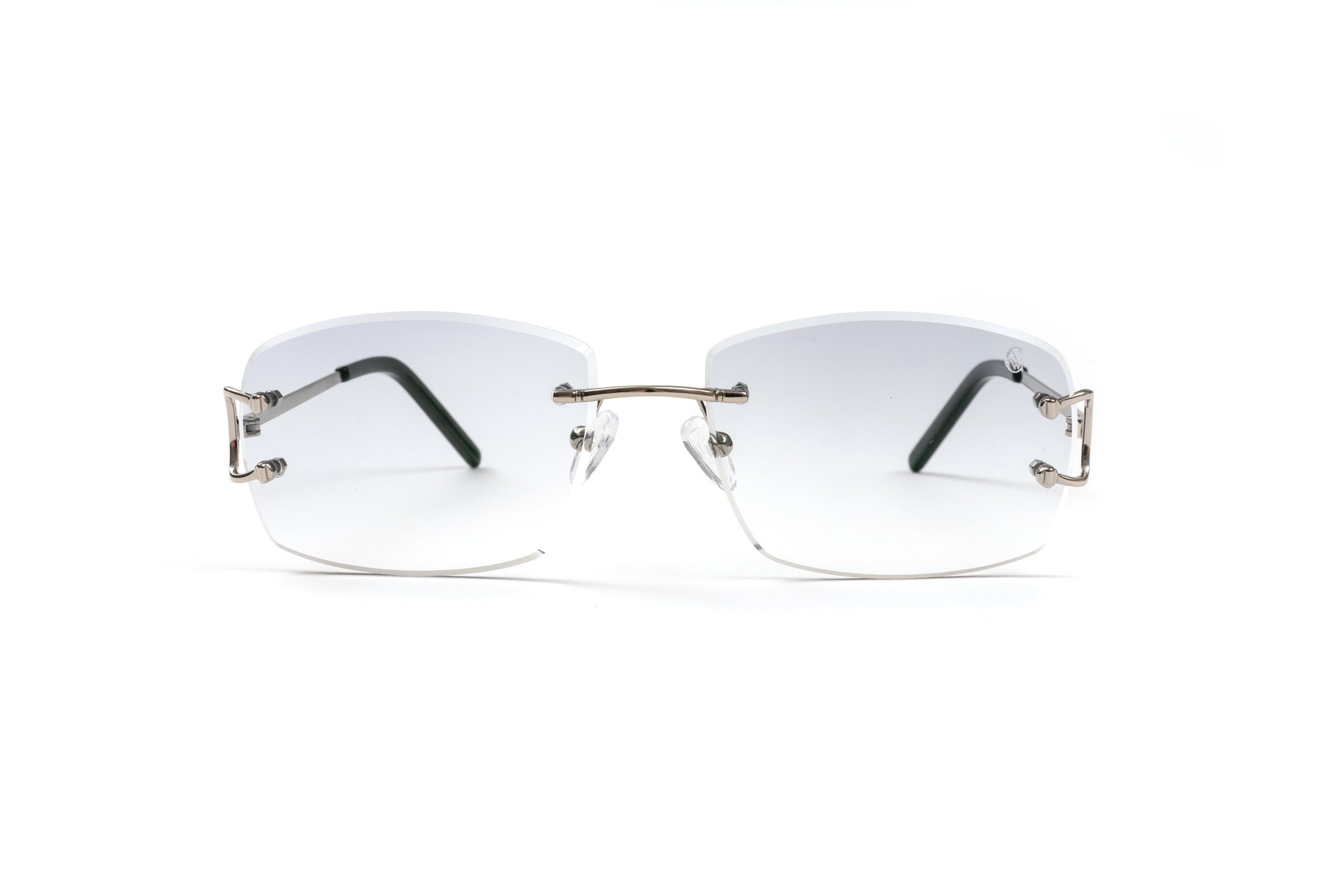 Classic C by VWC Silver/ Gradient Light Grey Lenses