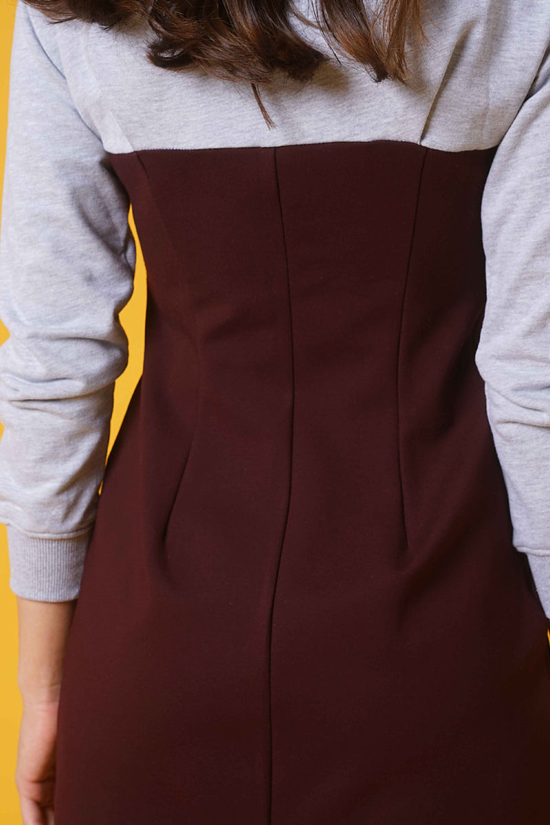 SLIM FIT HOODIE-DRESS