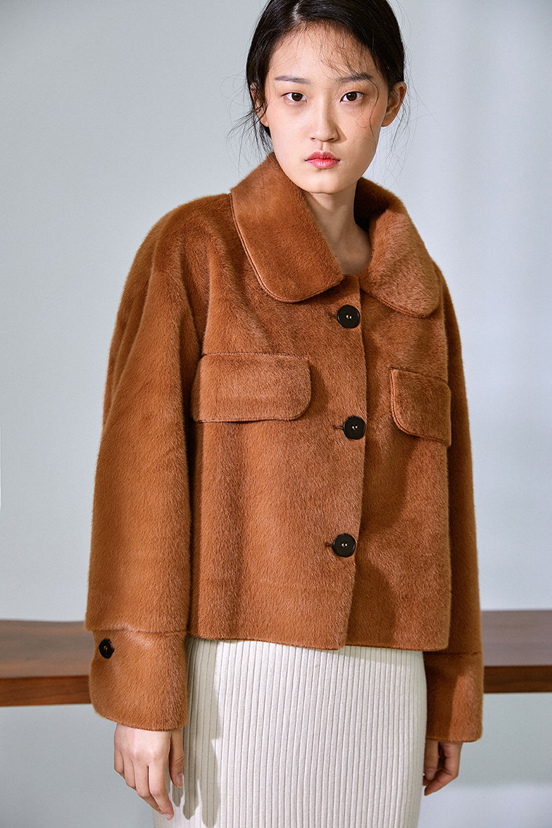 MINK FEELING COAT