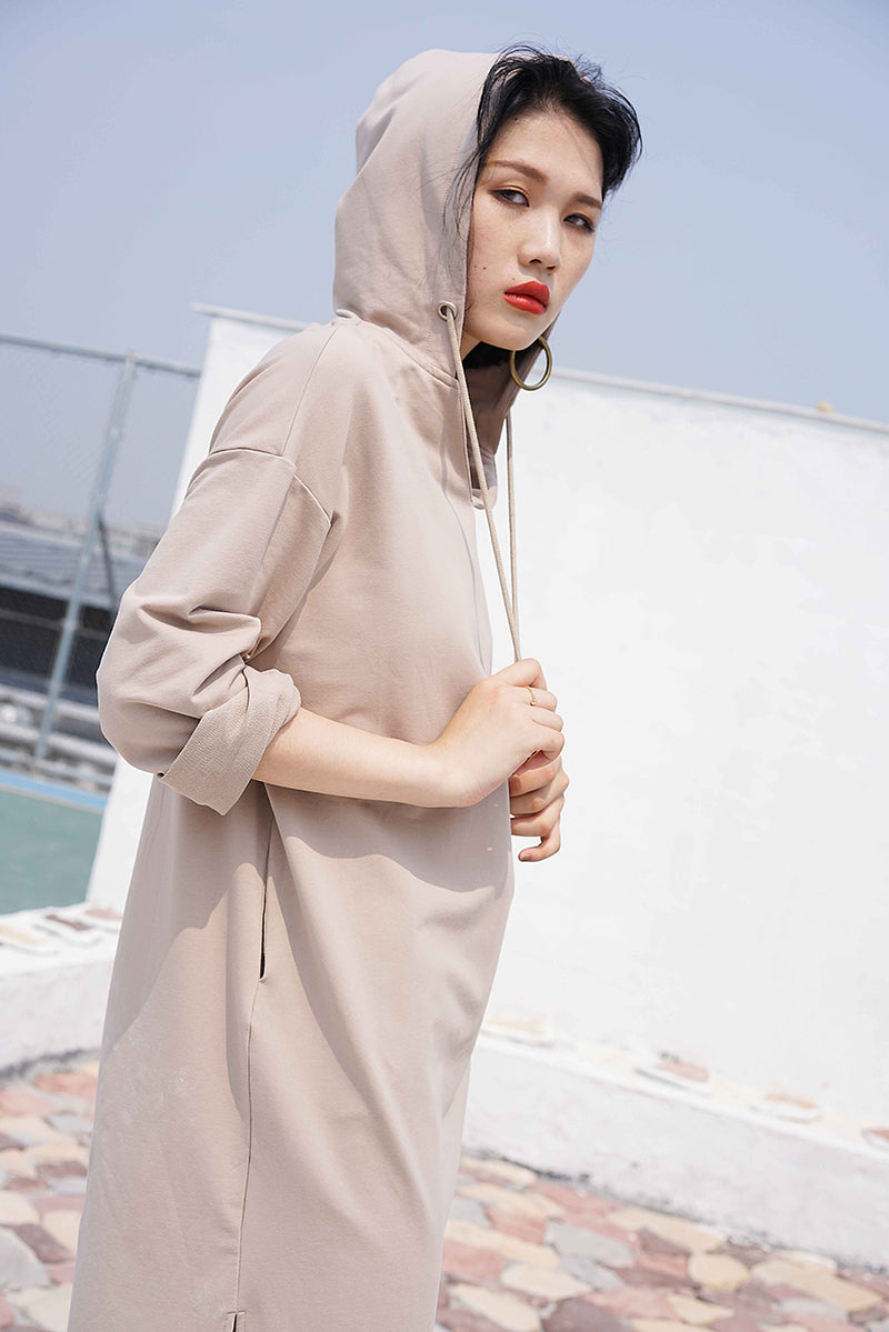 Lazy-Lazy Hoodie Dress